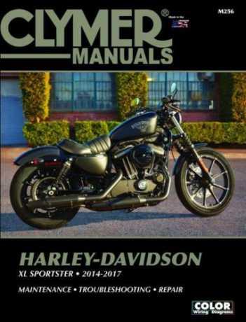Clymer Clymer Book HD M256  - 89-9565