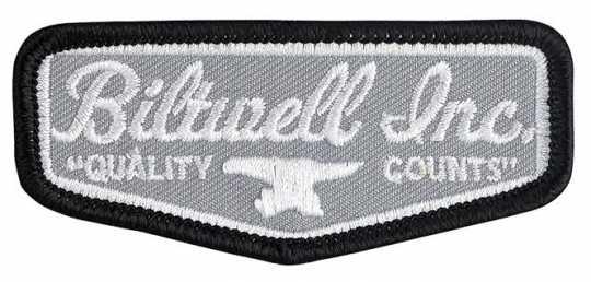 Biltwell Biltwell Aufnäher Shield grau, schwarz & weiß  - 561949