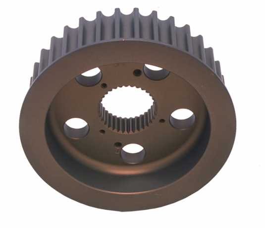 """Rivera Primo Aluminium Drive Pulley 34 Tooth for 1"""" Rear Belt Drive  - 89-3536"""