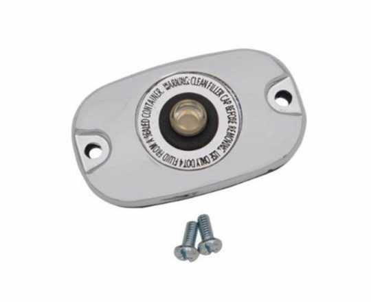 Custom Chrome Chrome Cover Rear Master Cylinder  - 89-4906