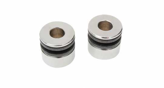"Replacement Bushings For Detachable Docking Hard Ware , .135"" Slot , .640"" Diameter , 3/8"" Hole  - 89-4962"
