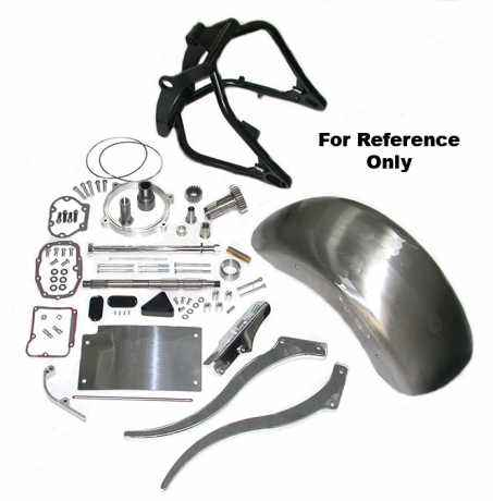 Custom Chrome Transmission/Primary Spacer-Bolts  - 89-4989