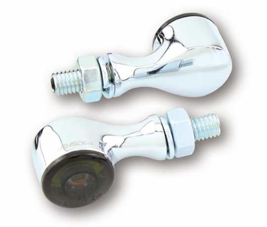 Highsider Highsider Apollo Classic LED Blinker & Rücklicht chrom  - 90-0272