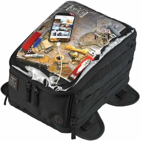 Biltwell Biltwell Tank Bag, EXFIL-11, Black  - 563216