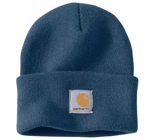 Carhartt Carhartt Acrylic Watch Hat Dark Blue  - 90-0748