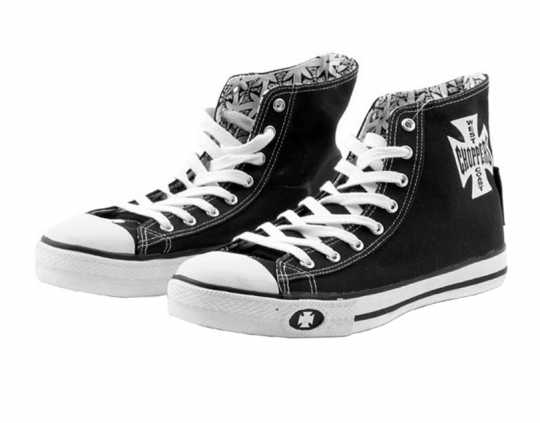 West Coast Choppers West Coast Choppers Sneaker Warrior black & white  - 90-1161V