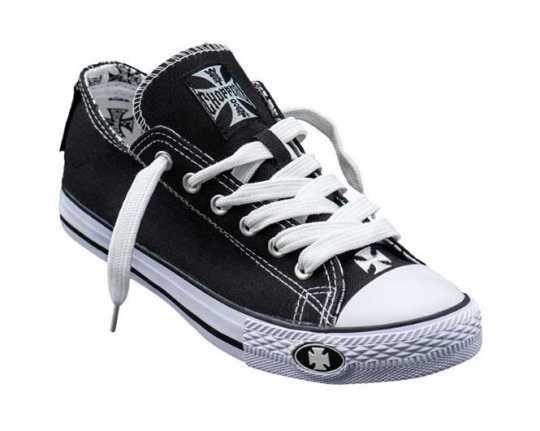 West Coast Choppers West Coast Choppers Sneaker Warrior Low black & white 42 - 966350