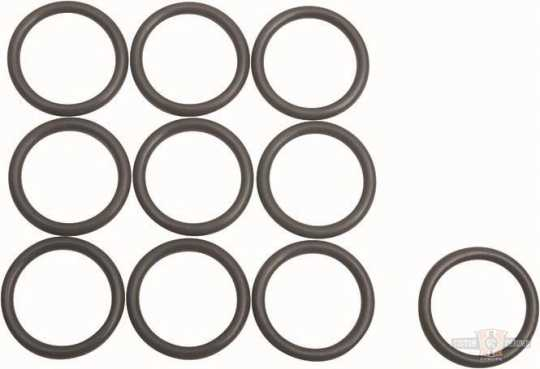 James Gaskets James Oil Pressure Check Valve O-Ring, Twin Cooled Only (10)  - 90-1473