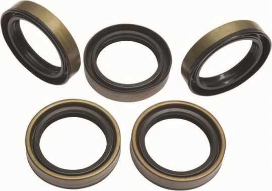 James Gaskets James Double Lip Seal, Motor Sprocket Shaft (5)  - 90-1491