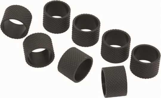 Rebuffini Rebuffini Replacement Grip Rubber Set, Febe, schwarz  - 90-1577