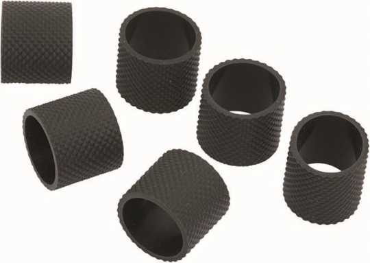 Rebuffini Rebuffini Replacement Grip Rubber Set, Zeta, schwarz  - 90-1584
