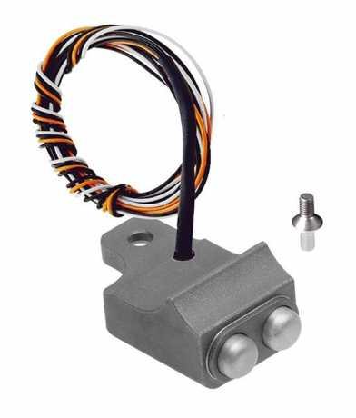 Rebuffini Rebuffini Schaltergehäuse Vendenge, 2-Button, Cable/Hydraulic Clutch, Sandblasted  - 90-1819