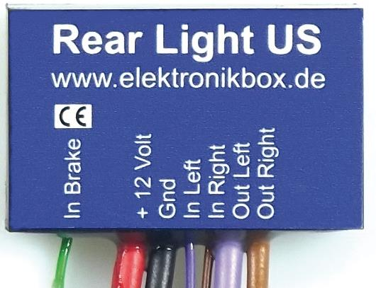 Axel Joost Axel Joost Rear Light US Converter  - 90-2044