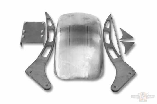TXT Customparts TXT DIY Rear Fender Kitl V (3 Cut Out) 210mm  - 90-2084
