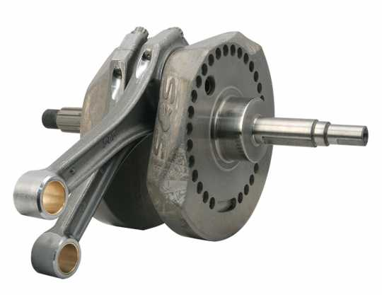 """S&S Cycle S&S Crankshaft,Assembly,Packaged,4-1/4"""",X-Wedge  - 90-6857"""
