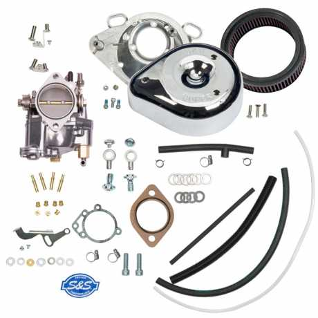 S&S Cycle S&S Super G Partial Carburetor Kit without Manifold & Mounting Hardware  - 90-7372
