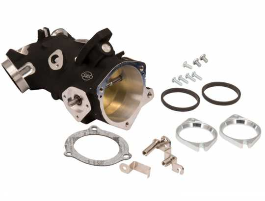 S&S Cycle S&S Throttle Body Kit 66mm / .405 black  - 90-7862