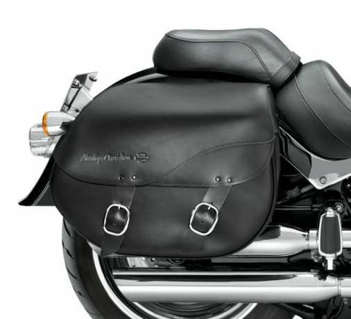 Harley-Davidson Abnehmbare Leder-Satteltaschen glatt  - 90200616A