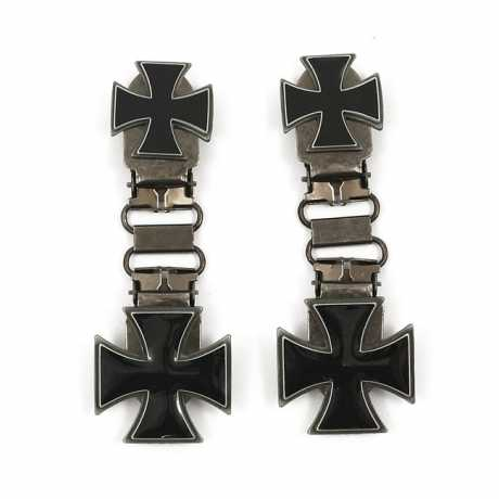 Ryder Clips Ryder Front Laced Boot Clips Maltese Cross  - 904308