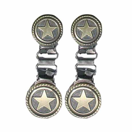Ryder Clips Ryder Front Laced Boot Clips Western Star  - 904309