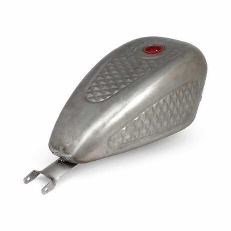 Motorcycle Storehouse Gas Tank Diamond Style 3.3 Gallon  - 904322