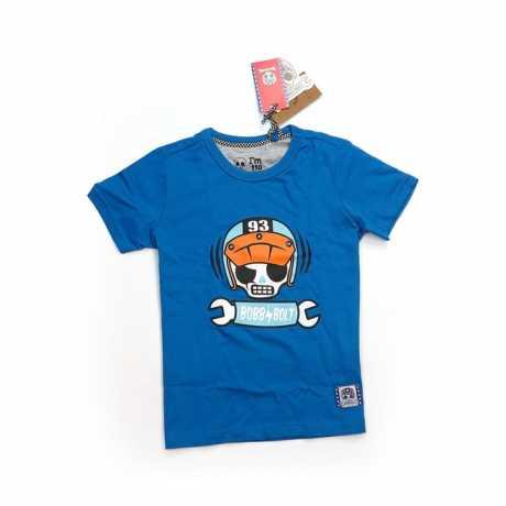 Bobby Bolt Bobby Bolt Scram T-Shirt blue  - 906141V