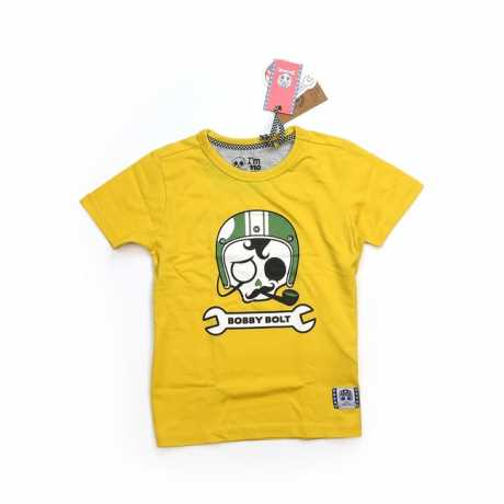 Bobby Bolt Bobby Bolt Sir Bobby T-Shirt gelb  - 906148V