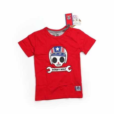 Bobby Bolt Bobby Bolt USA T-Shirt red  - 906156V