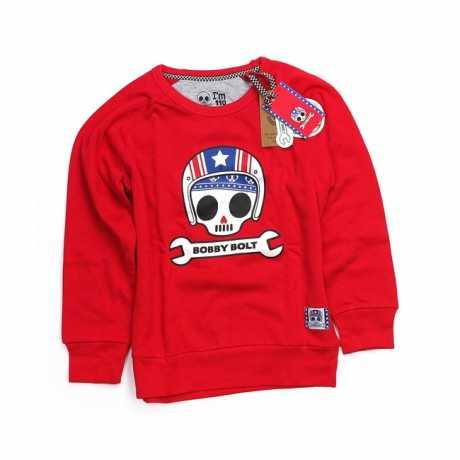 Bobby Bolt Bobby Bolt USA Sweater rot  - 906181V