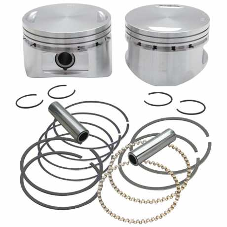 """S&S Cycle S&S Forged 3 5/8"""" Bore Piston Kit  - 91-0115"""