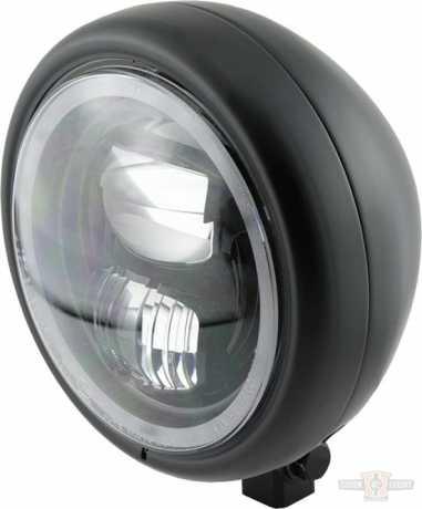 """Highsider Highsider Pecos Type 7 LED Scheinwerfer 5 3/4"""" schwarz  - 91-0875"""