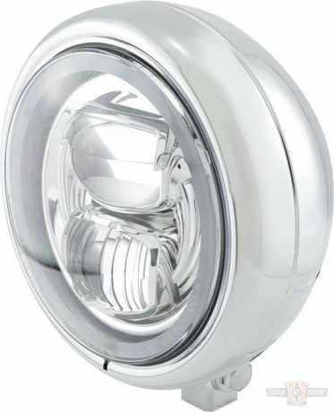 "Highsider Highsider Pecos Type 7 LED Scheinwerfer 5 3/4"", chrom  - 91-0876"