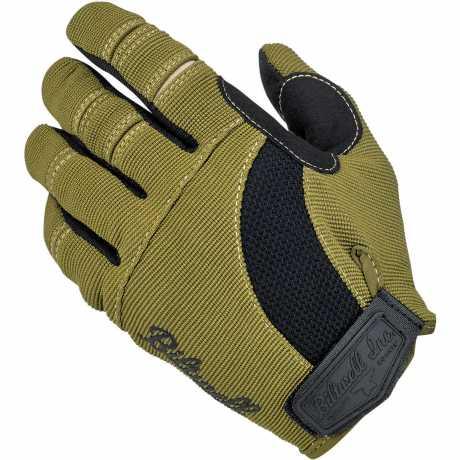 Biltwell Biltwell Moto Gloves Olive/Black/Tan  - 567158V