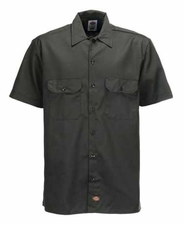 Dickies Dickies Kurzarm Work Shirt Olive Green 3XL - 91-1181