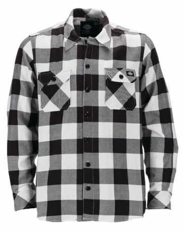 Dickies Dickies Sacramento Flannel Hemd schwarz/weiß  - 91-1182V
