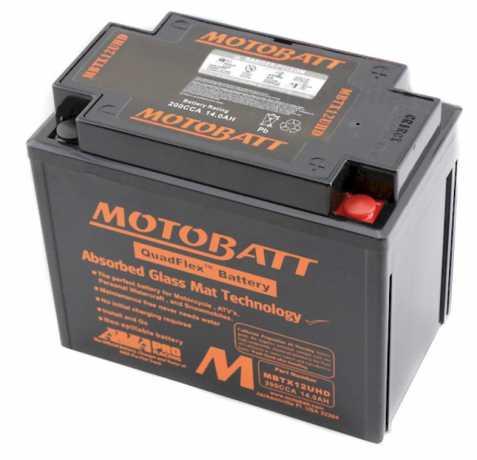 Motobatt Motobatt Batterie MBTX12UHD, schwarz  - 91-1424