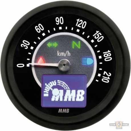 MMB MMB ELT60 Target, Black/Black, Black Face Dial, 220 km/h  - 91-1645