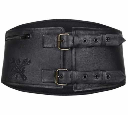 John Doe John Doe Kidney Belt Classical Black  - 91-1778V