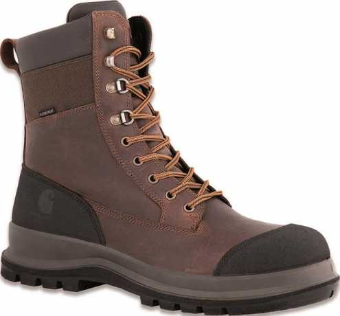 "Carhartt Carhartt Michigan 8"" Boots Dark Brown  - 91-1846V"