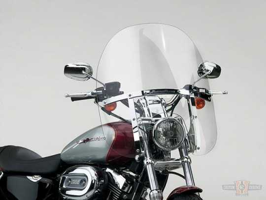 National Cycle National Cycle SwitchBlade Quick Release Windshield, 2-Up, Clear, Narrow  - 91-1873