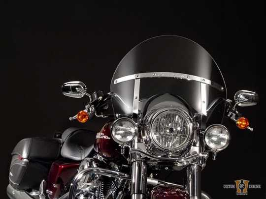 National Cycle National Cycle SwitchBlade Quick Release Windshield, Chopped, Tinted  - 91-1881