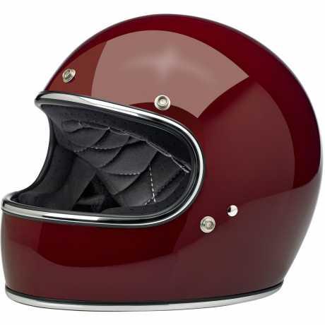 Biltwell Biltwell Gringo Full Face Helmet, ECE, Gloss Garnet  - 91-1960V