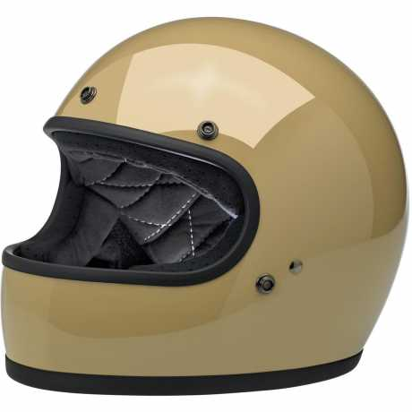 Biltwell Gringo Full Face Helmet, ECE, Gloss Coyote Tan