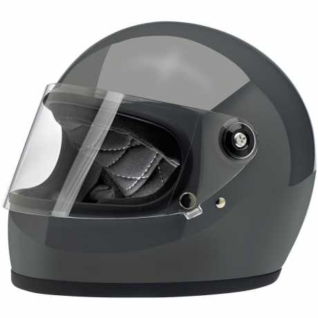 Biltwell Biltwell Gringo S Helm ECE Storm Grey  - 569646V