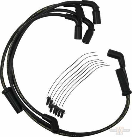 Accel Accel Spark Plug Wire Set 8mm S/S Spiral Core, Black  - 91-2636