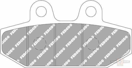 Ferodo Ferodo Rear Brake Pads Sinter  - 91-2776