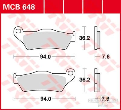 TRW/Lucas Brake Pads, Rear