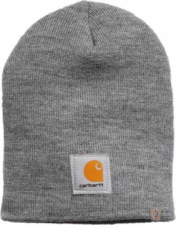 Carhartt Carhartt Knit Hat Heather Grey  - 91-3610