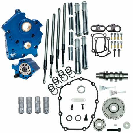 S&S Cycle S&S Cam Chest Kit Gear Drive 475G chrom  - 91-3641