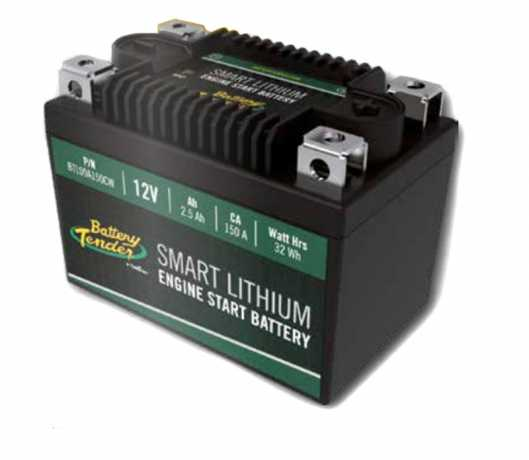 Battery Tender Battery Tender Lithium Smart Batterie 12V, 480 CCA  - 91-3657